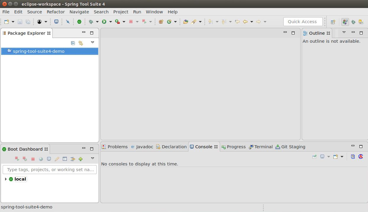 Spring Tool Suite 4 Eclipse IDE