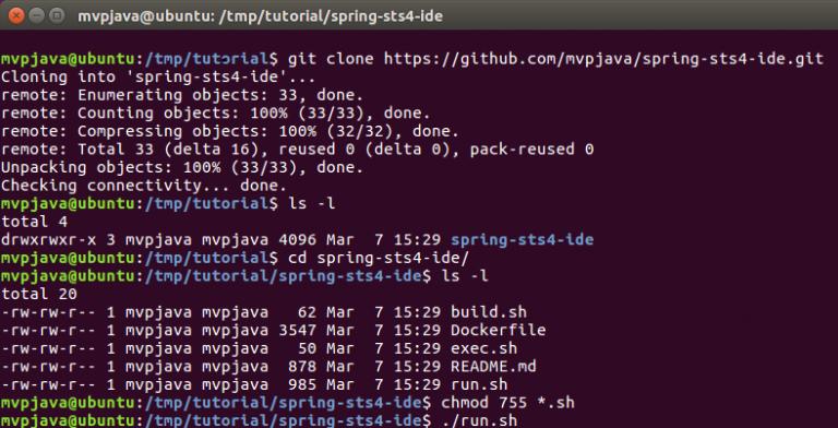 Running Spring Tool Suite 4 in Docker - DZone Cloud