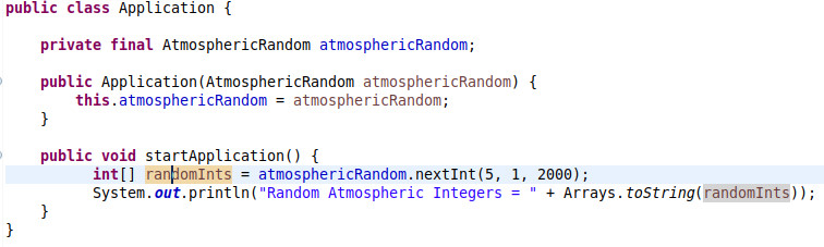 Generating a Random Number in Java From Atmospheric Noise