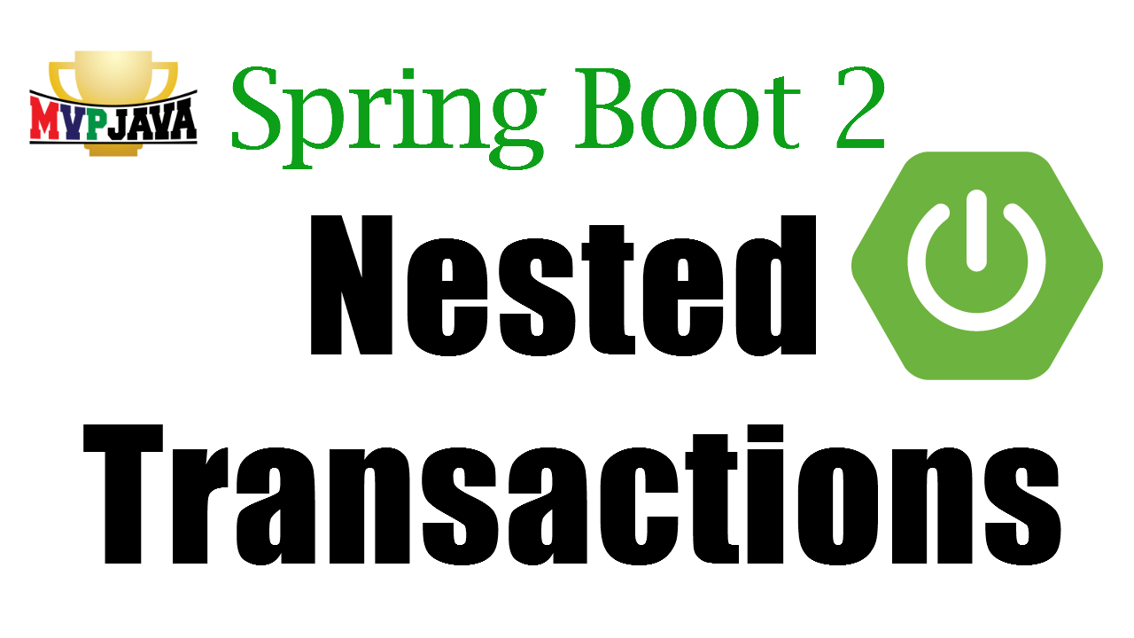 Spring Nested Transactions - MVP Java