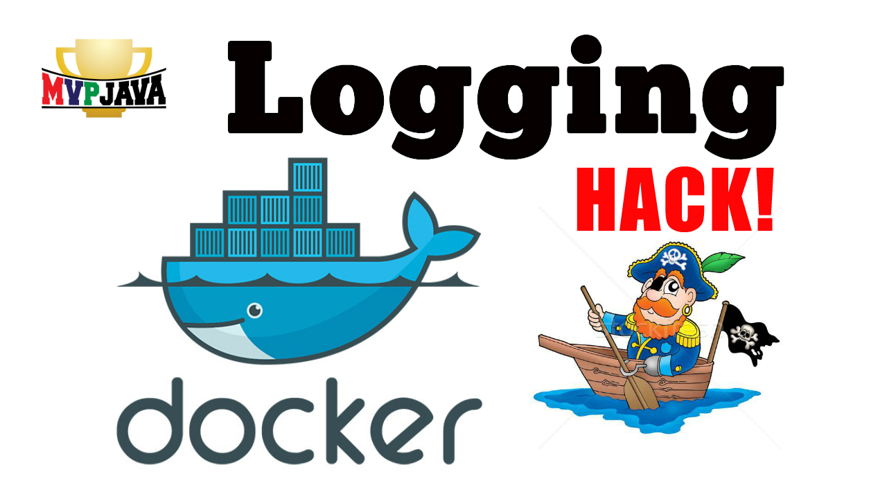 Docker logging symlink hack